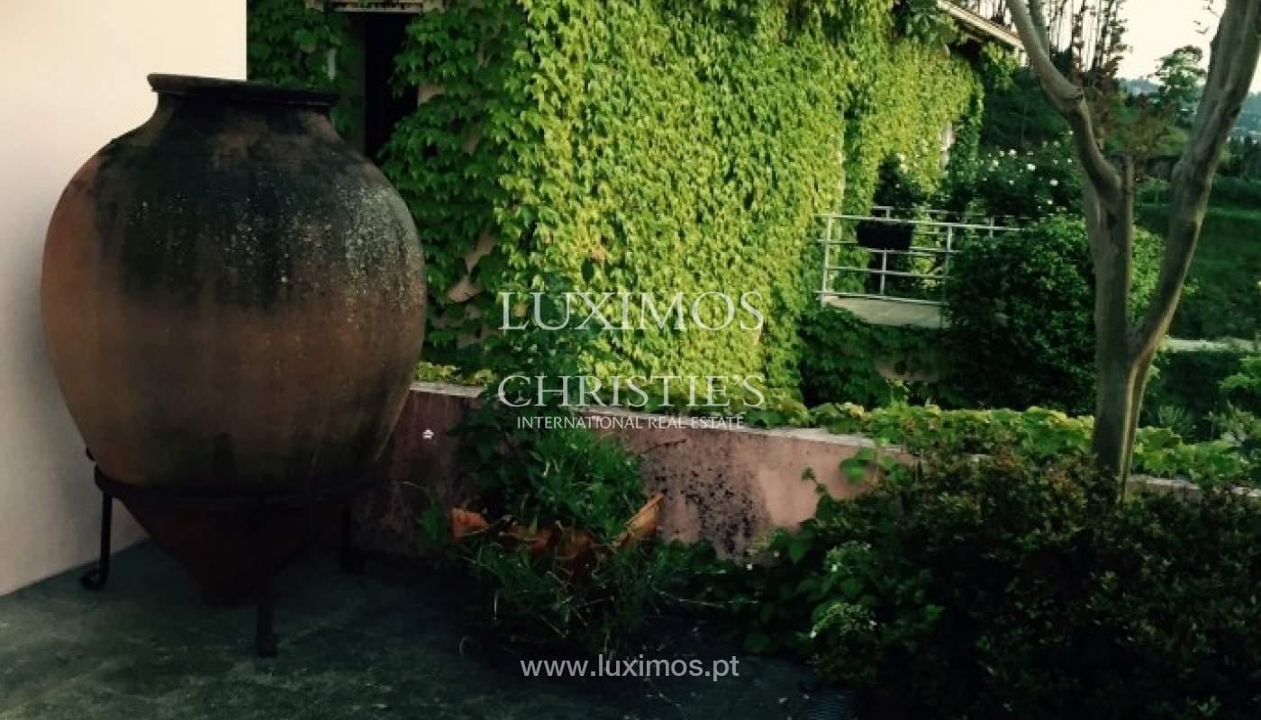 Villa mit Garten und Blick auf die serra do Marão, Amarante, Porto, Portugal_51946