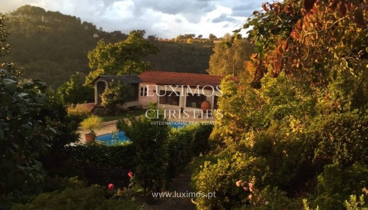 Villa mit Garten und Blick auf die serra do Marão, Amarante, Porto, Portugal_51949