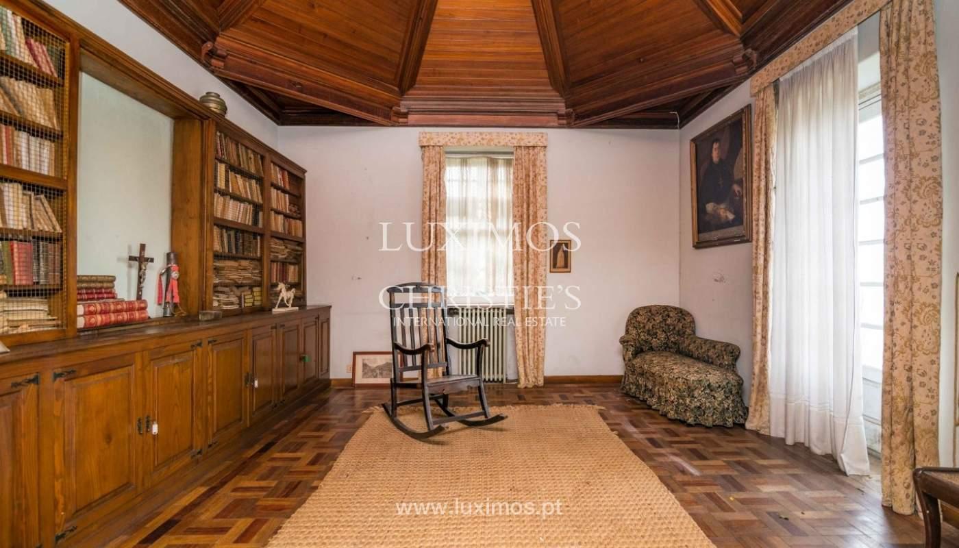Quinta com amplo jardim, árvores de fruto e bosque, Santo Tirso_52442