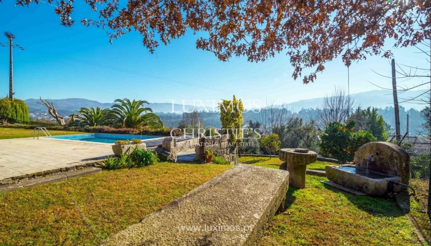 Vivienda con vistas al río y sierra, cerca de Geres, Taíde, Braga, Portugal_54134