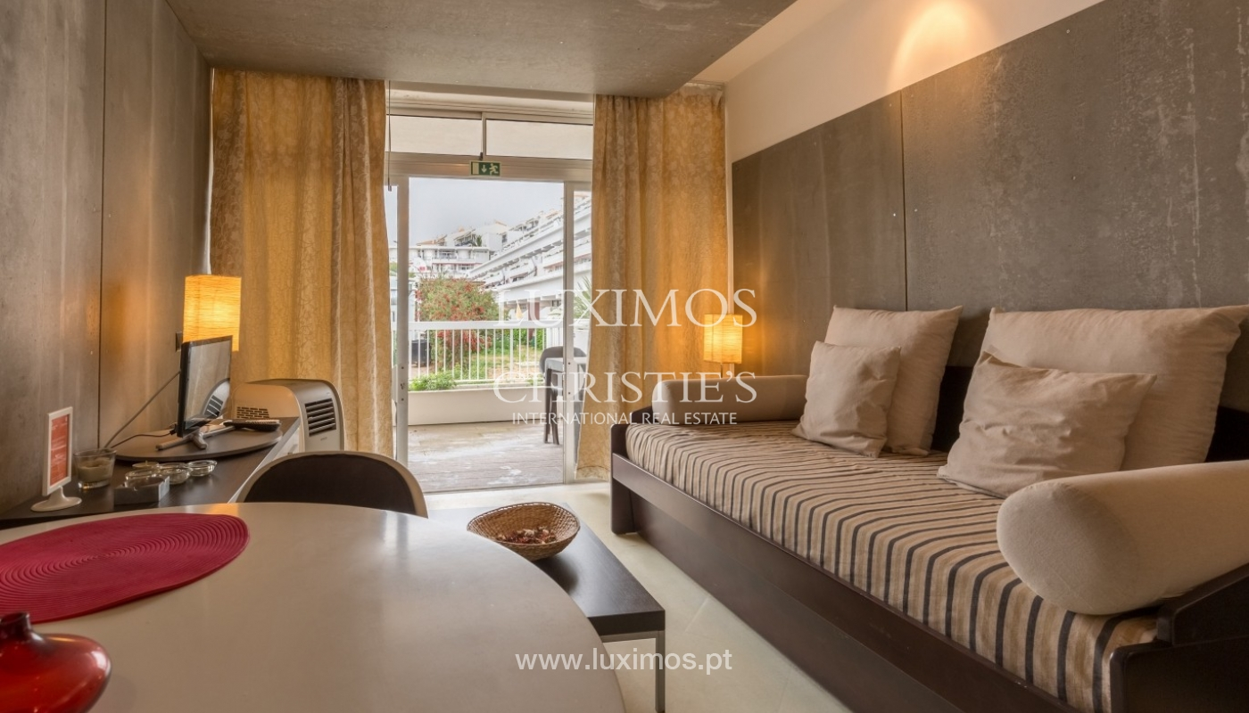 Studio for sale with pool, near the beach, Oura, Algarve, Portugal_54546