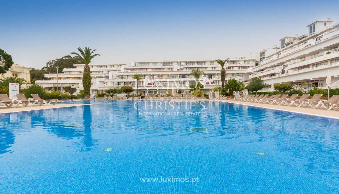 Studio for sale with pool, near the beach, Oura, Algarve, Portugal_54550