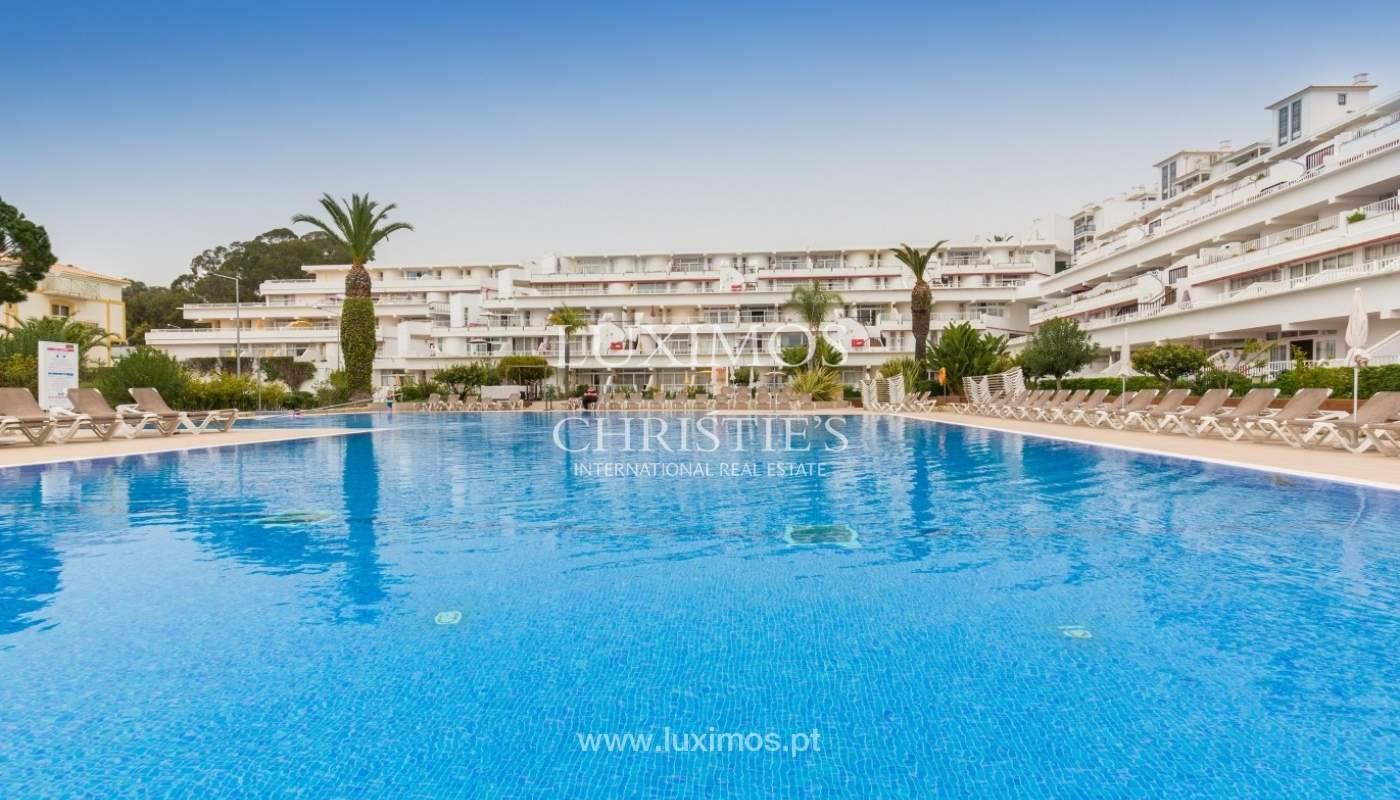 Venda de estúdio com piscina, perto da praia, Oura, Albufeira, Algarve_54550