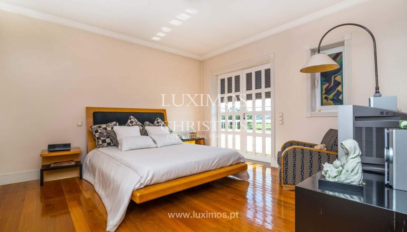 Maison de luxe à vendre avec piscine et jardin, Porto, Portugal_55017