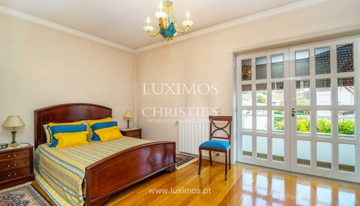Maison de luxe à vendre avec piscine et jardin, Porto, Portugal_55019