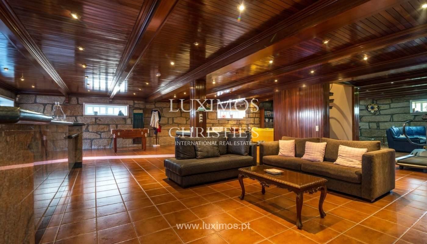 Maison de luxe à vendre avec piscine et jardin, Porto, Portugal_55021