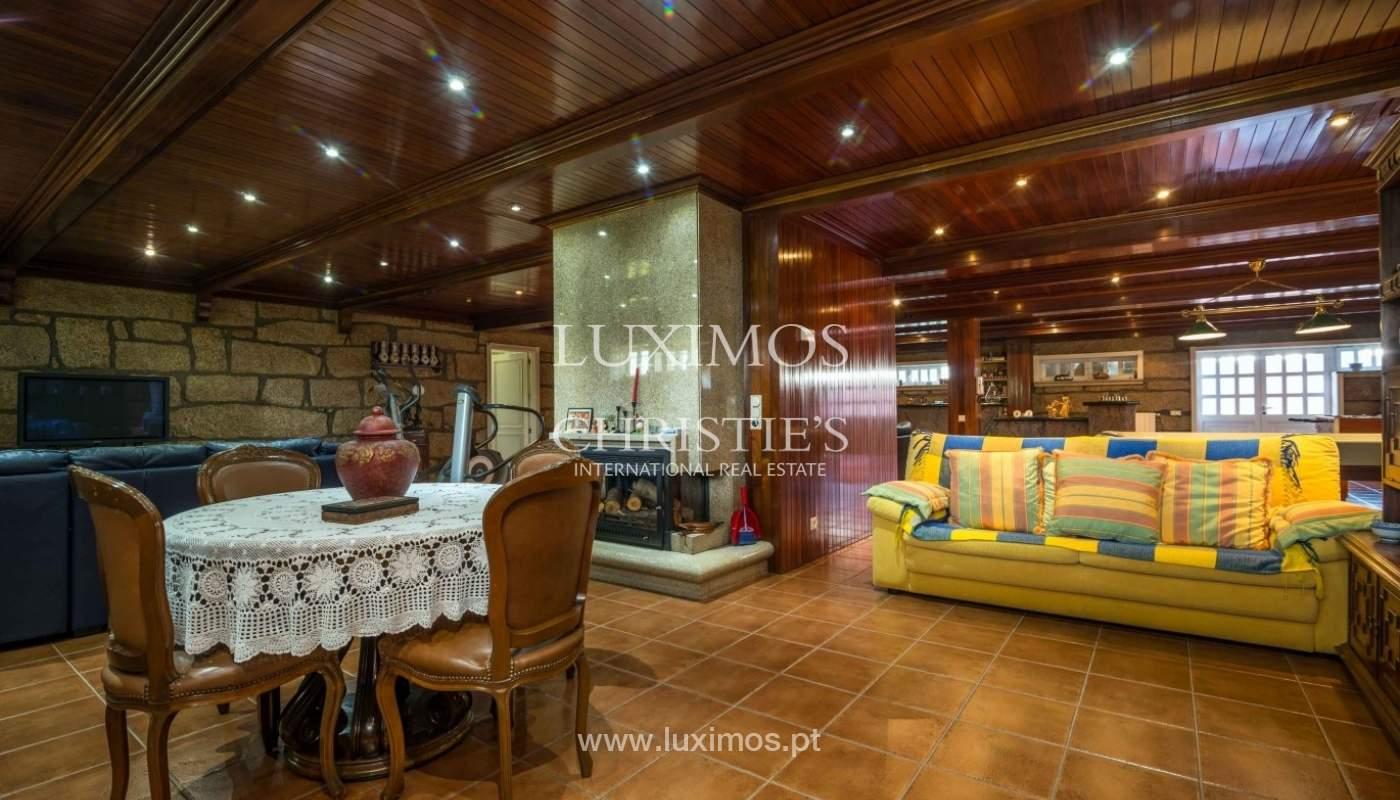 Maison de luxe à vendre avec piscine et jardin, Porto, Portugal_55022