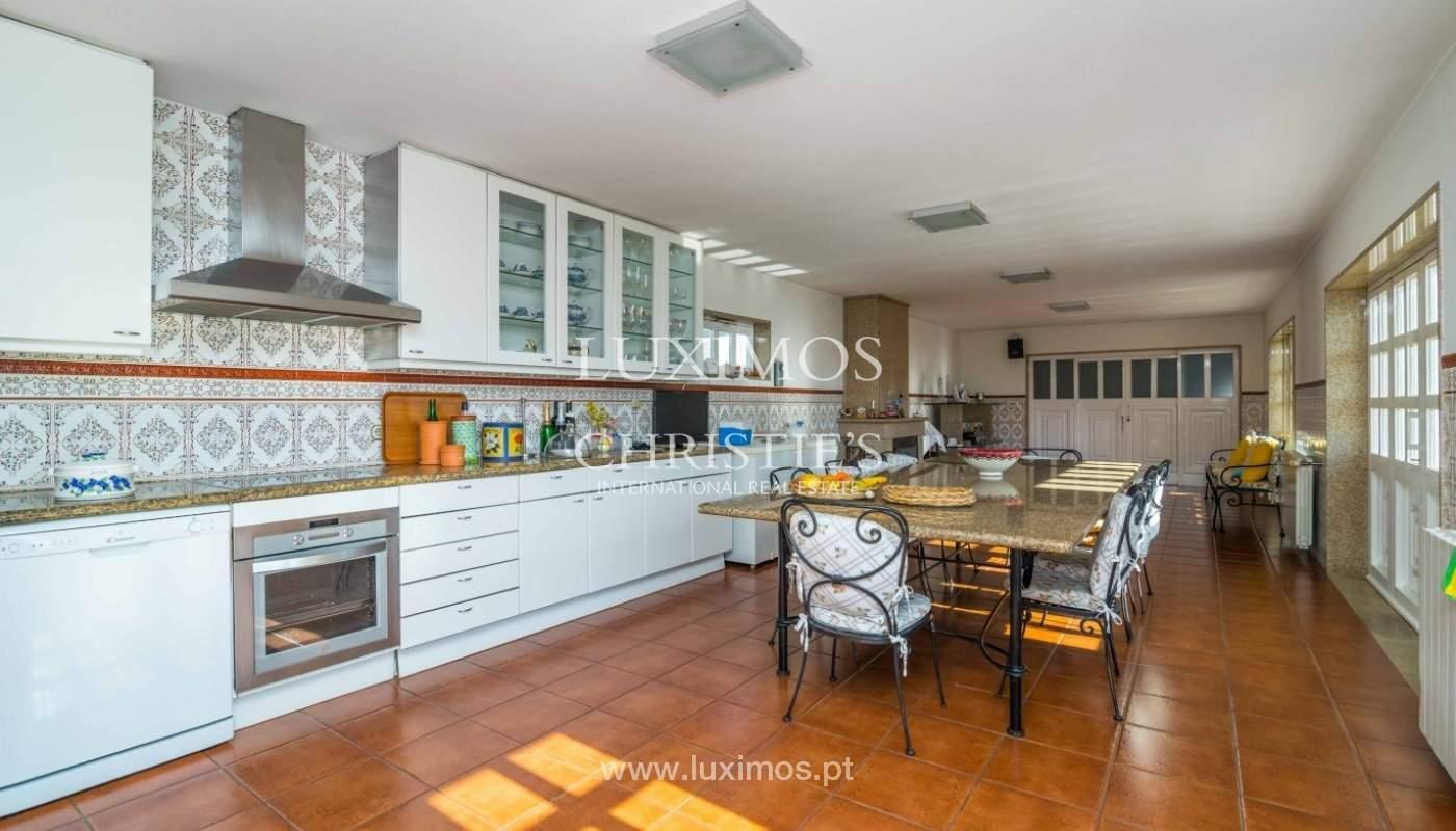 Maison de luxe à vendre avec piscine et jardin, Porto, Portugal_55025