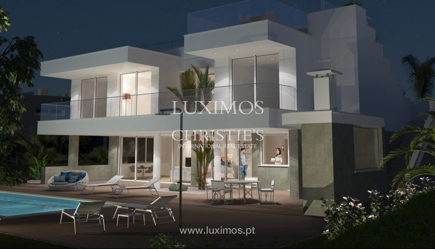 Villa à vendre avec piscine et vue sur la mer, Lagos, Algarve,Portugal_55429