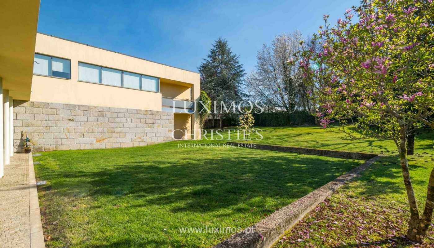 Modern and luxury villa with garden and pool, Ponte da Barca, Portugal_55506