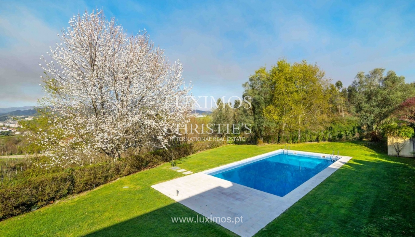 Modern and luxury villa with garden and pool, Ponte da Barca, Portugal_55518