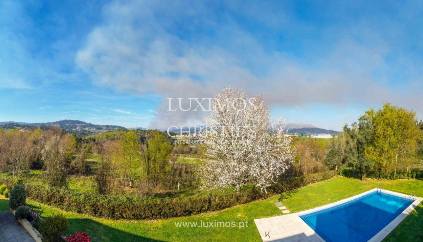 Modern and luxury villa with garden and pool, Ponte da Barca, Portugal_55519