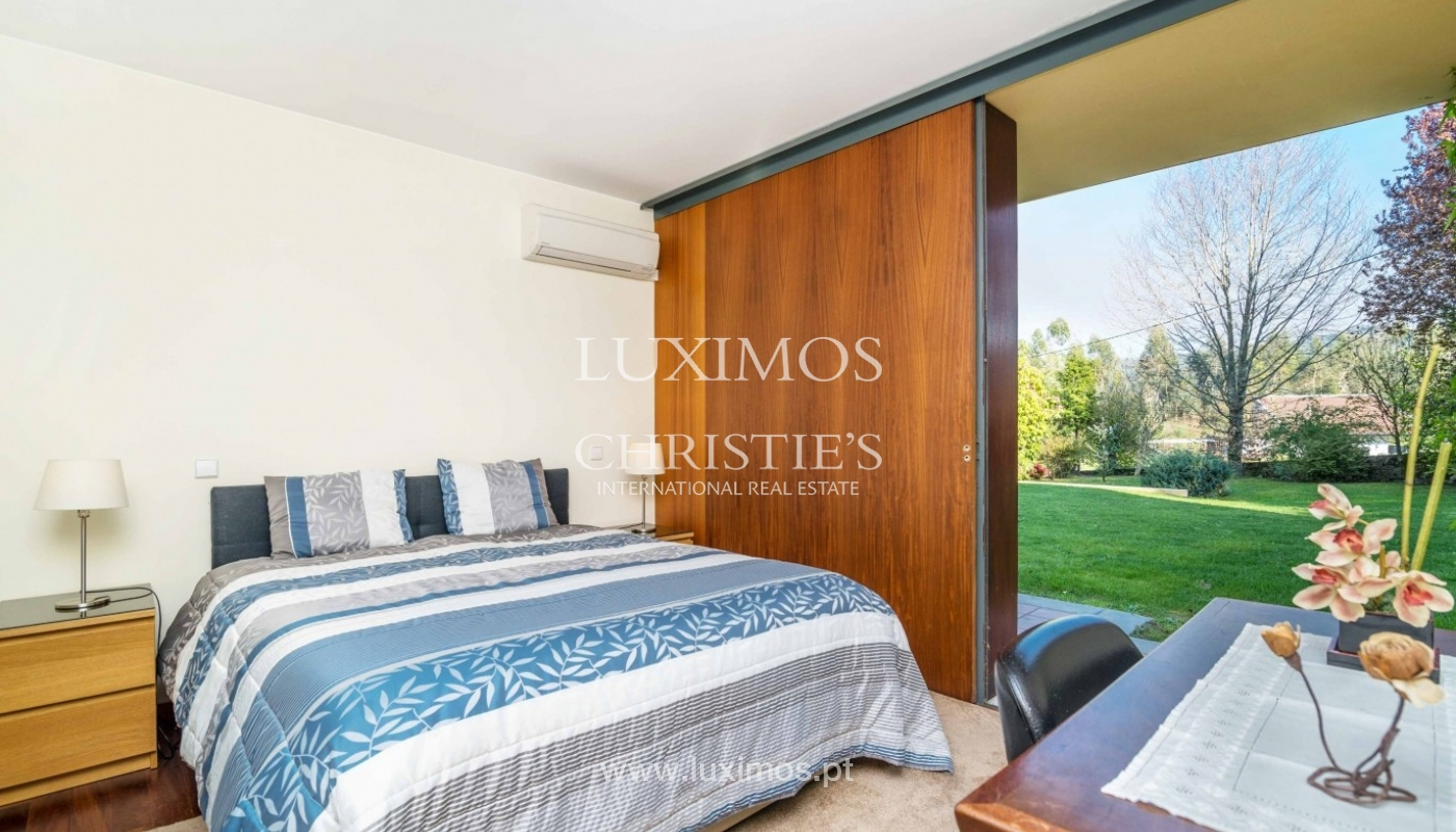 Modern and luxury villa with garden and pool, Ponte da Barca, Portugal_55524