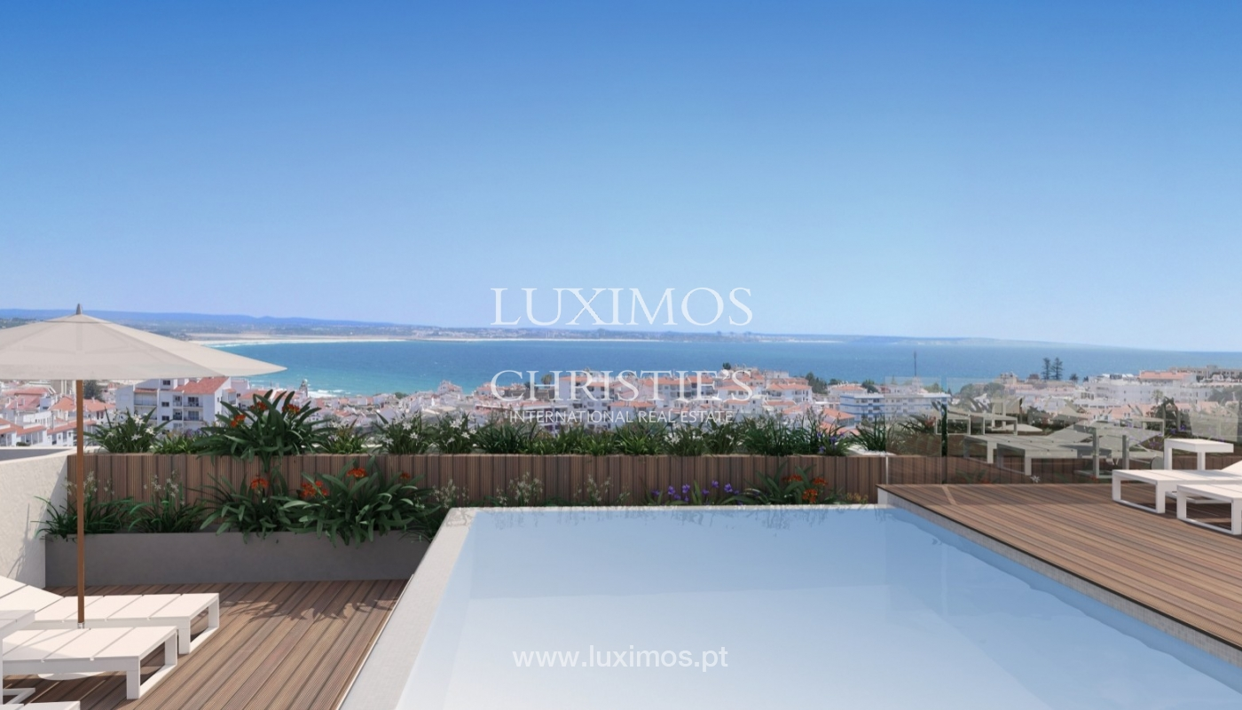 New penthouse for sale, pool and sea views, Lagos, Algarve, Portugal_55731