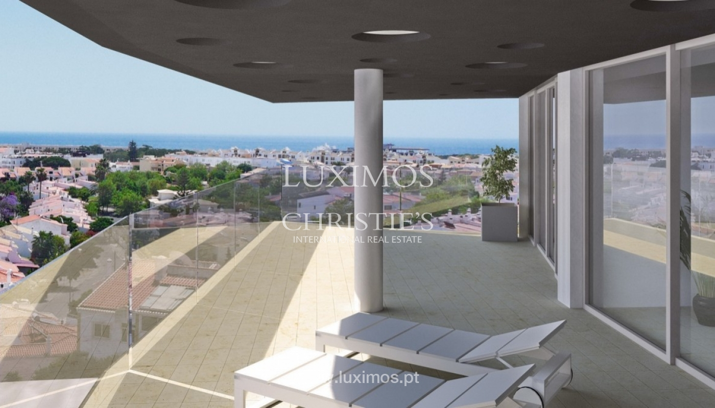 New penthouse for sale, pool and sea views, Lagos, Algarve, Portugal_55734