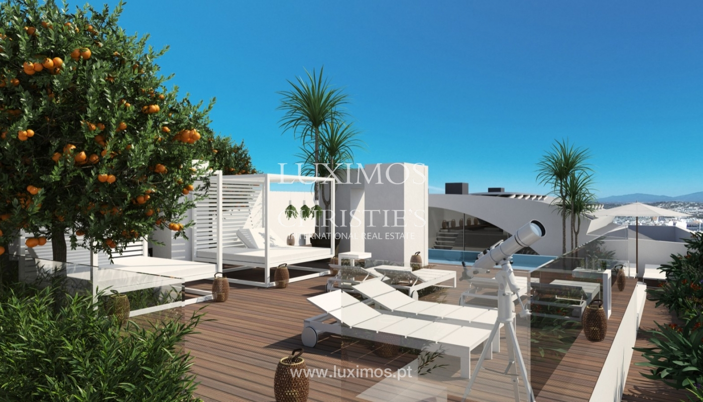 New penthouse for sale, pool and sea views, Lagos, Algarve, Portugal_55738