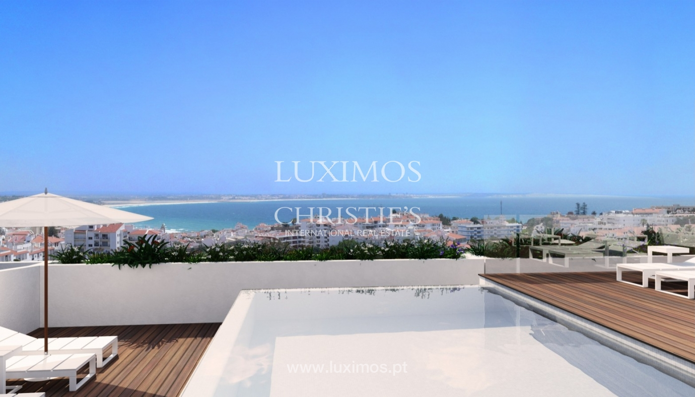 New penthouse for sale, pool and sea views, Lagos, Algarve, Portugal_55741