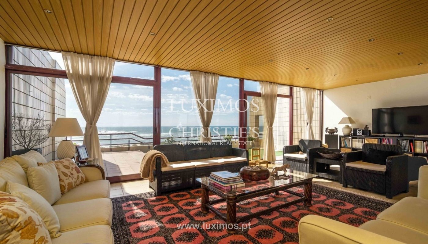Penthouse with ocean views and terrace, Mindelo, Porto, Portugal_56060