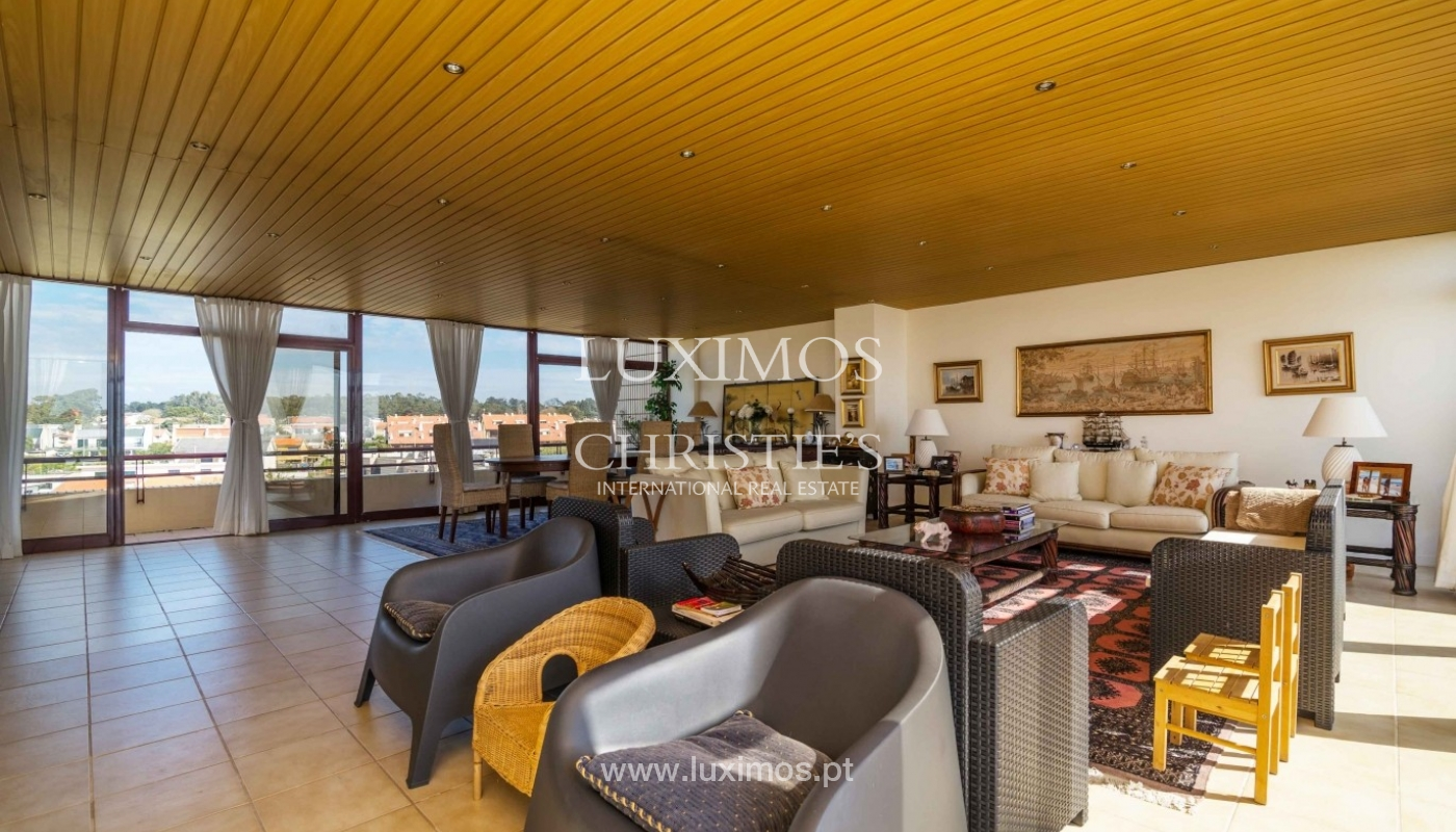 Penthouse with ocean views and terrace, Mindelo, Porto, Portugal_56062