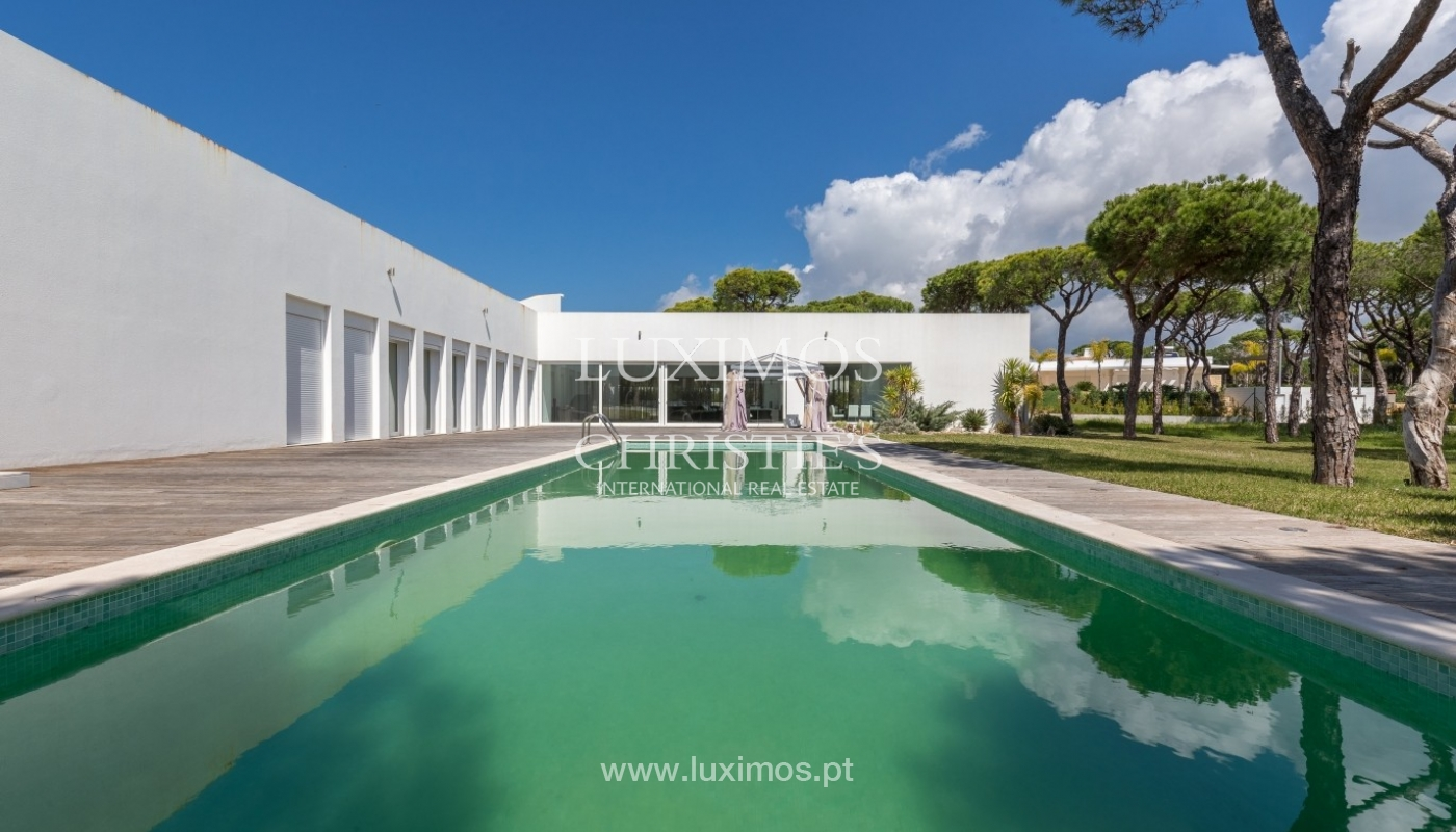 Luxury villa for sale, pool, by the golf, Vilamoura, Algarve, Portugal_56593