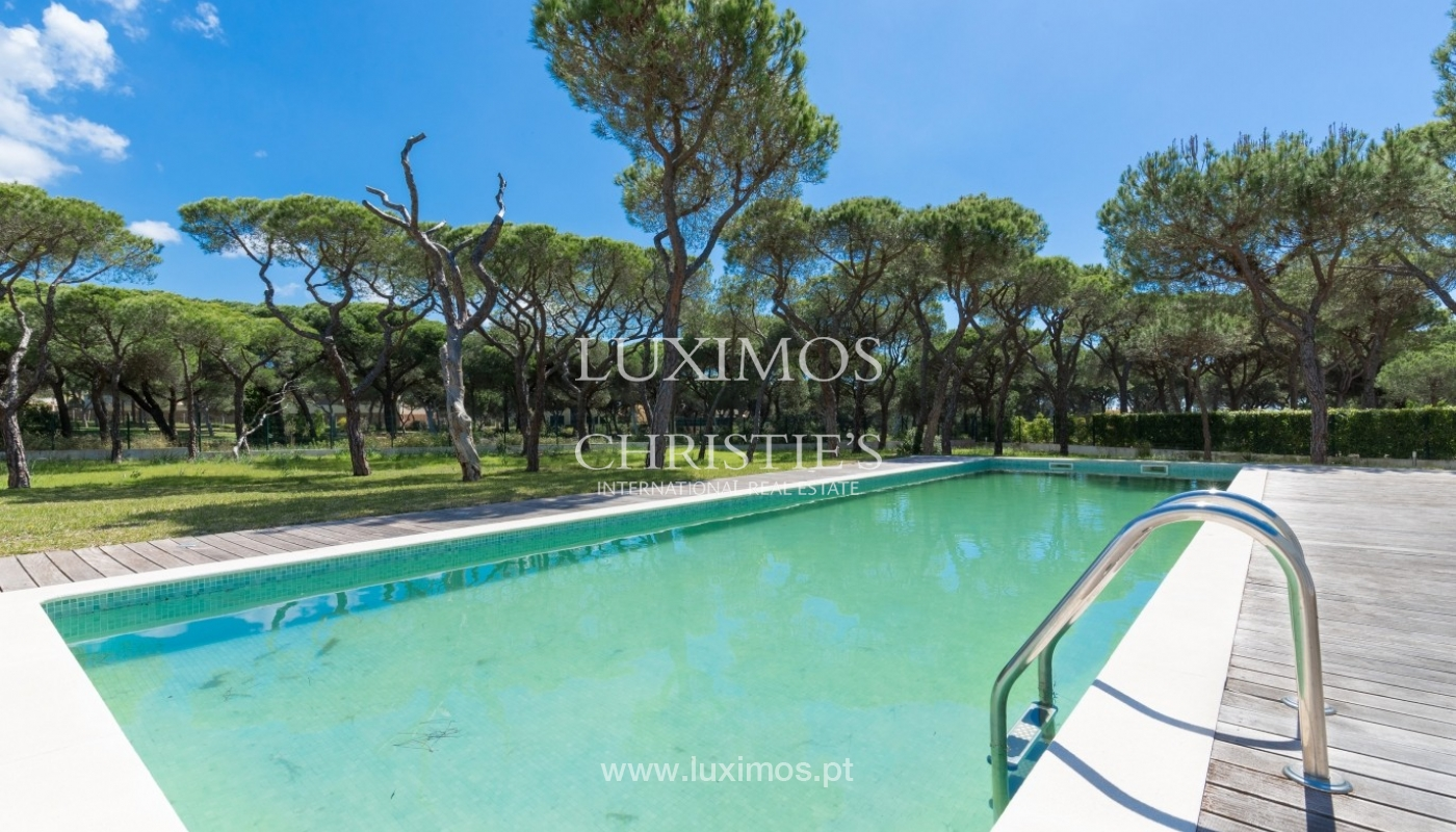Luxury villa for sale, pool, by the golf, Vilamoura, Algarve, Portugal_56603