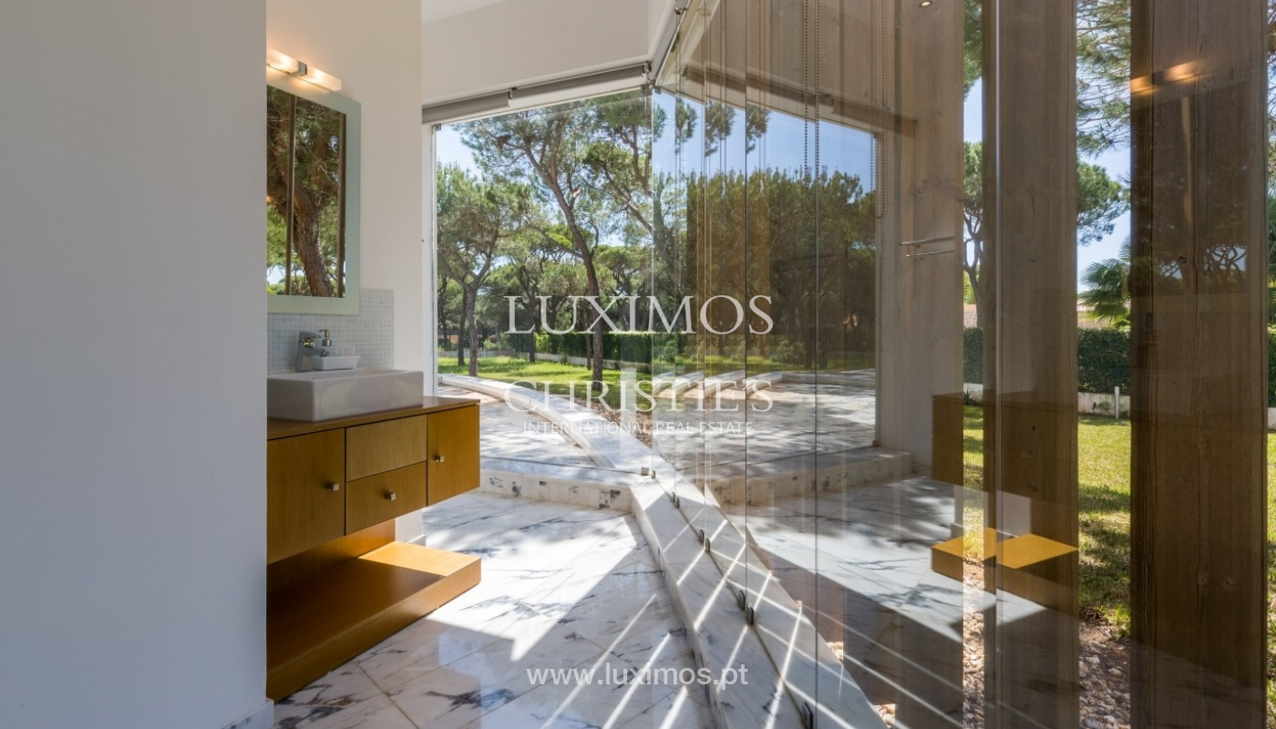 Luxury villa for sale, pool, by the golf, Vilamoura, Algarve, Portugal_56604