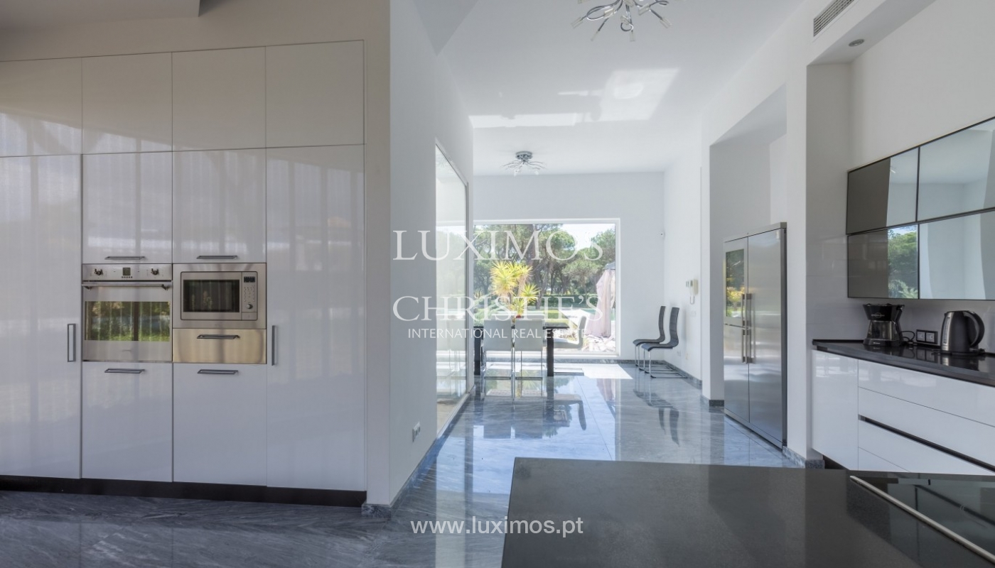 Luxury villa for sale, pool, by the golf, Vilamoura, Algarve, Portugal_56610