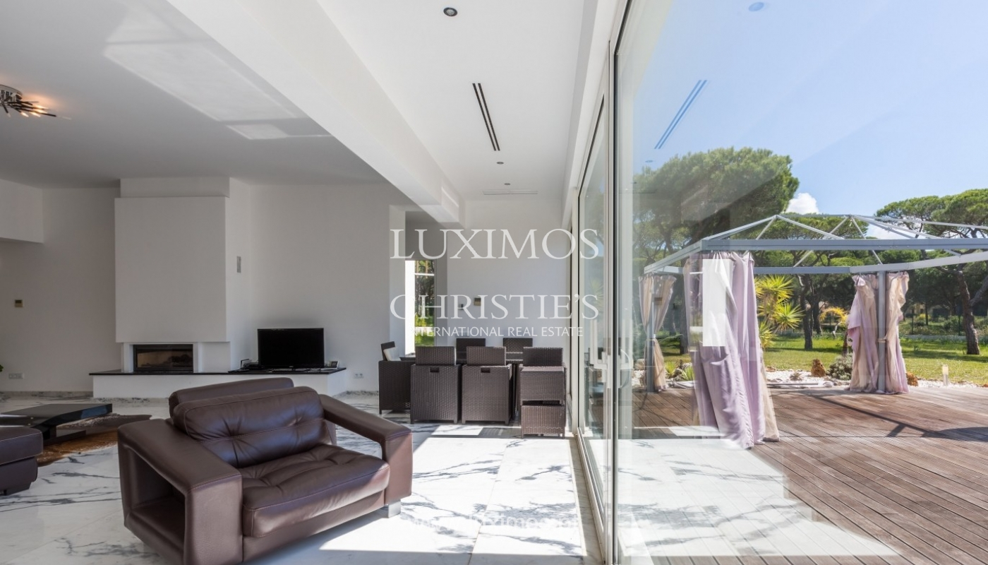 Luxury villa for sale, pool, by the golf, Vilamoura, Algarve, Portugal_56612