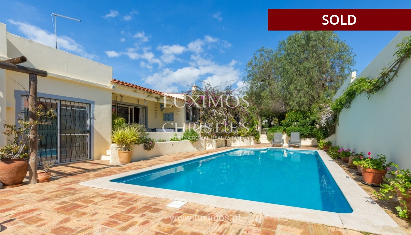Villa for sale, pool and tennis court, Quarteira, Algarve, Portugal_56635