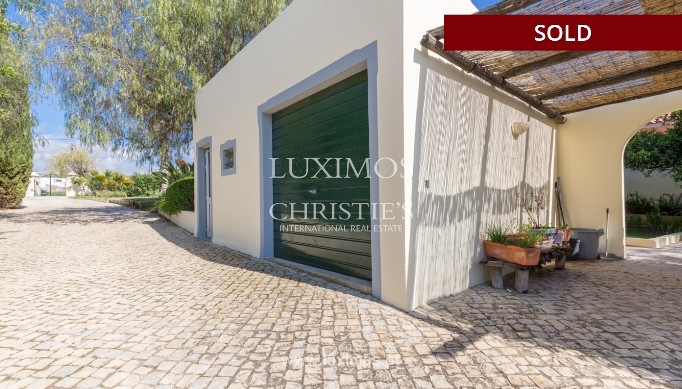 Villa for sale, pool and tennis court, Quarteira, Algarve, Portugal_56641