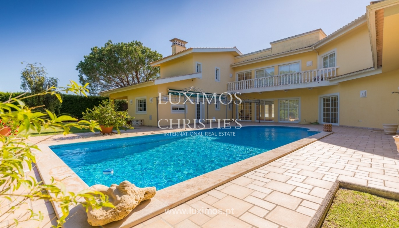Moradia à venda, piscina e jardim, perto do golfe, Vilamoura, Algarve_56910