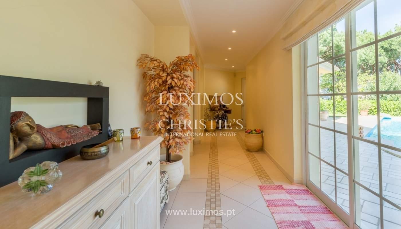 Moradia à venda, piscina e jardim, perto do golfe, Vilamoura, Algarve_56919