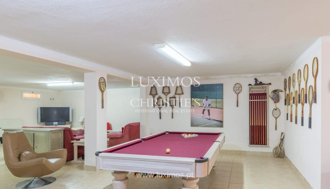 Moradia à venda, piscina e jardim, perto do golfe, Vilamoura, Algarve_56929
