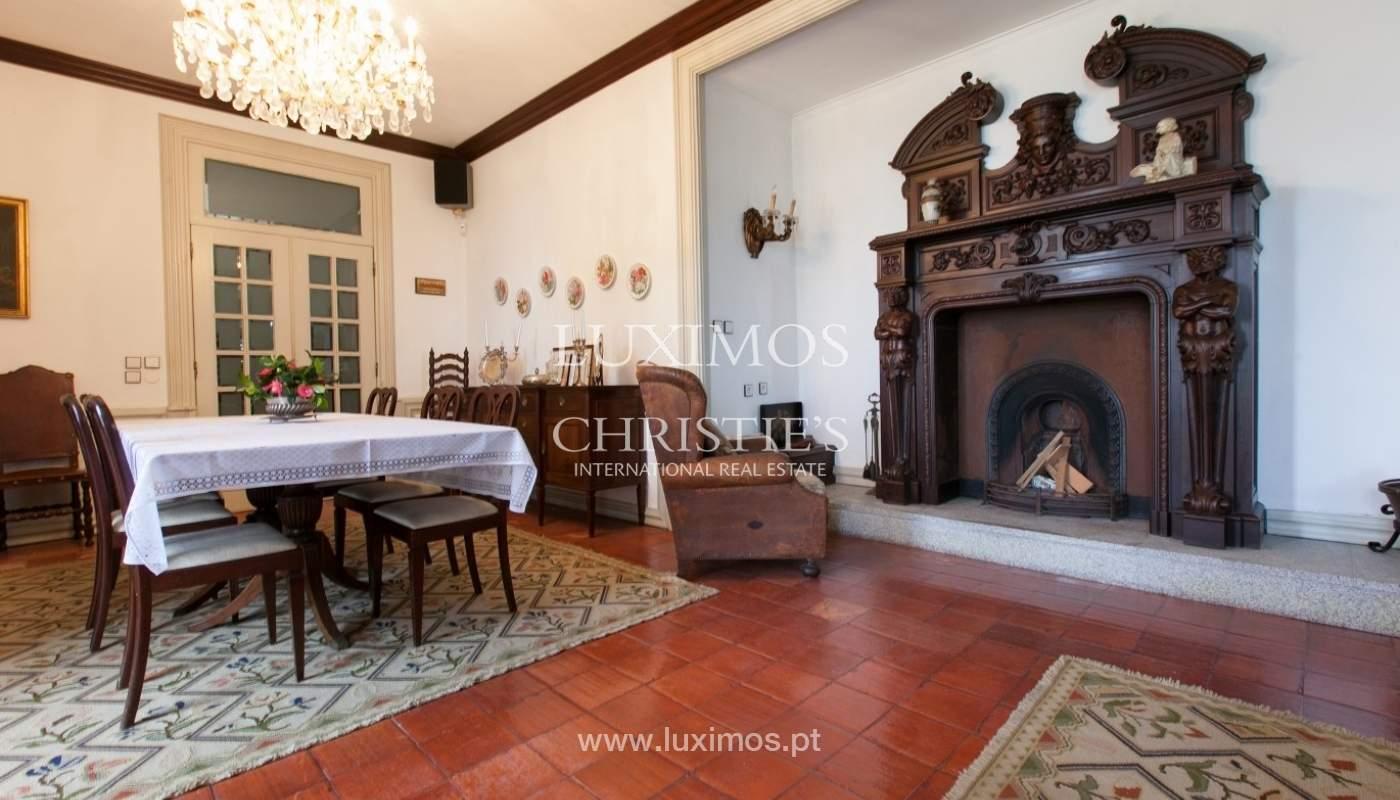 Villa mit Garten, See und Aussicht über Braga, Portugal_57110