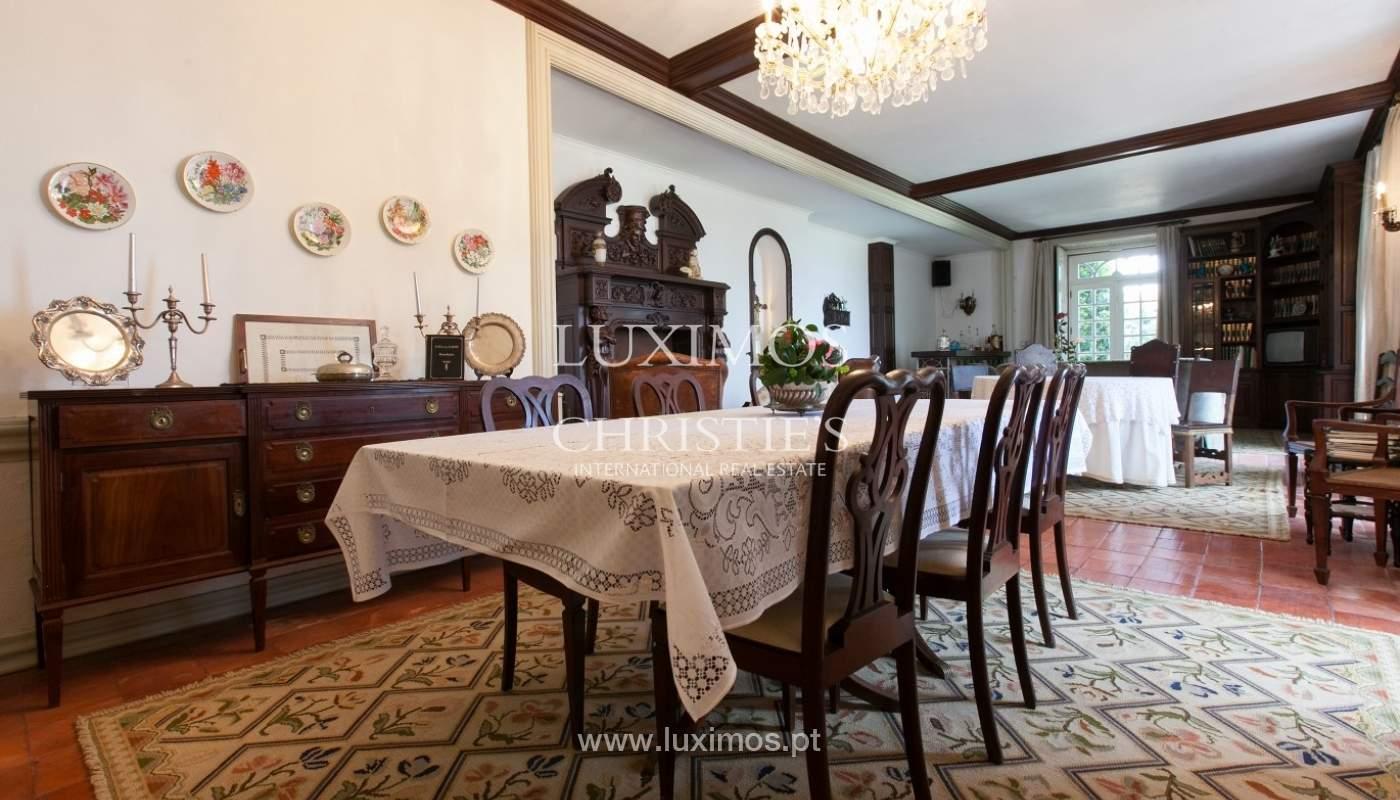 Villa mit Garten, See und Aussicht über Braga, Portugal_57111