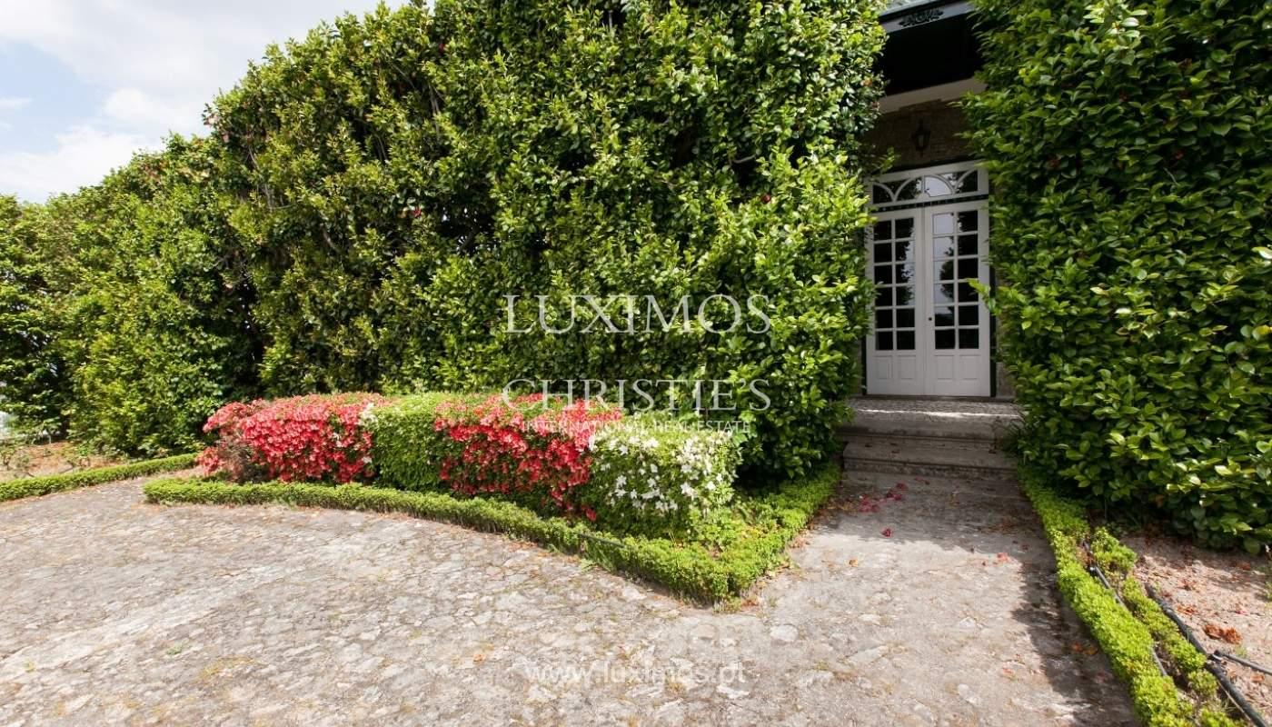 Villa mit Garten, See und Aussicht über Braga, Portugal_57116