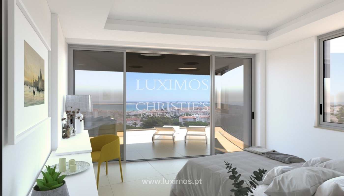 New apartment for sale, pool and sea views, Lagos, Algarve, Portugal_57531