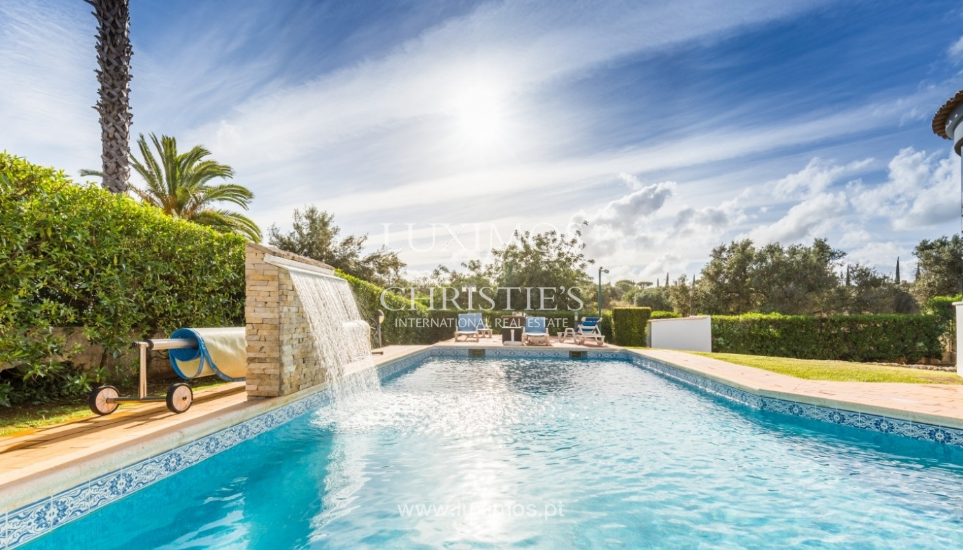 Villa for sale with pool, near the golf, Vilamoura, Algarve, Portugal_59048