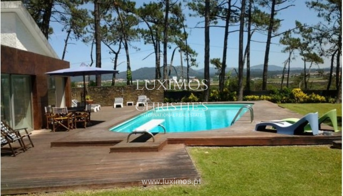 Villa with pool and river views, Ofir, North of Portugal_59290