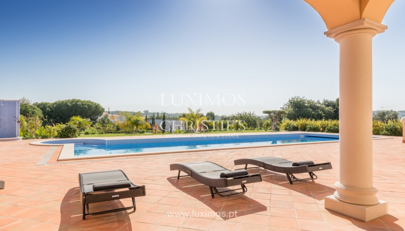 Villa for sale, sea view, near the golf, Fonte Santa, Algarve,Portugal_59592