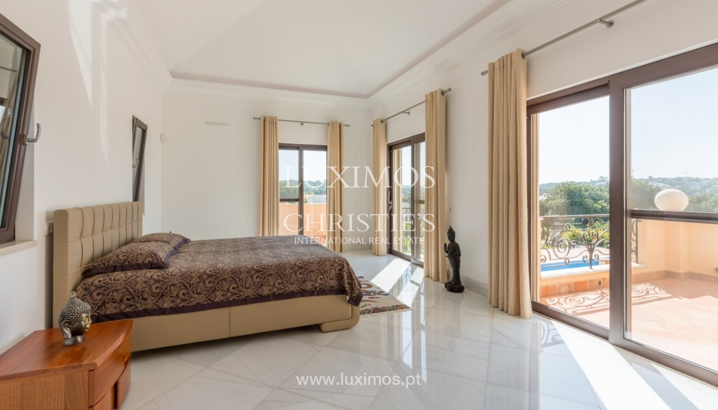 Villa à vendre, vue mer, près du golf, Fonte Santa, Algarve,Portugal_59601
