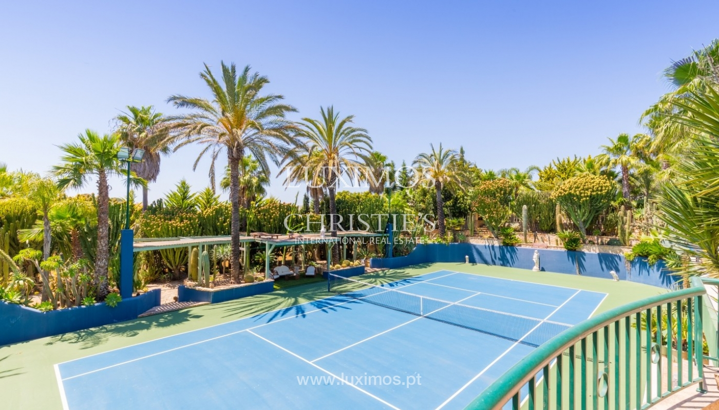 Villa for sale with pool and tennis court, Albufeira, Algarve,Portugal_59656
