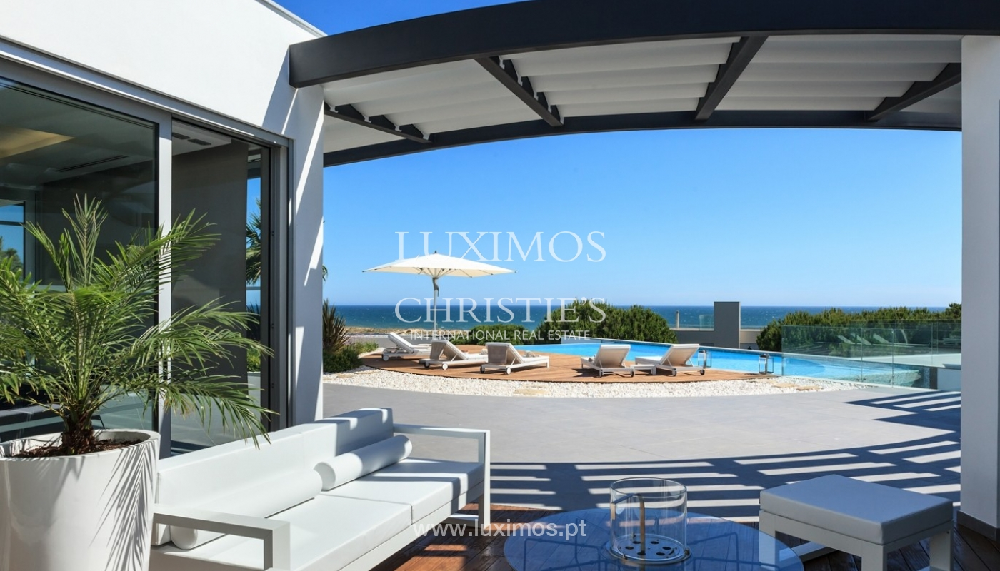 Haus zum Verkauf, Meerblick, direkter Zugang zum Strand, in Vale do Lobo, Algarve, Portugal_60252
