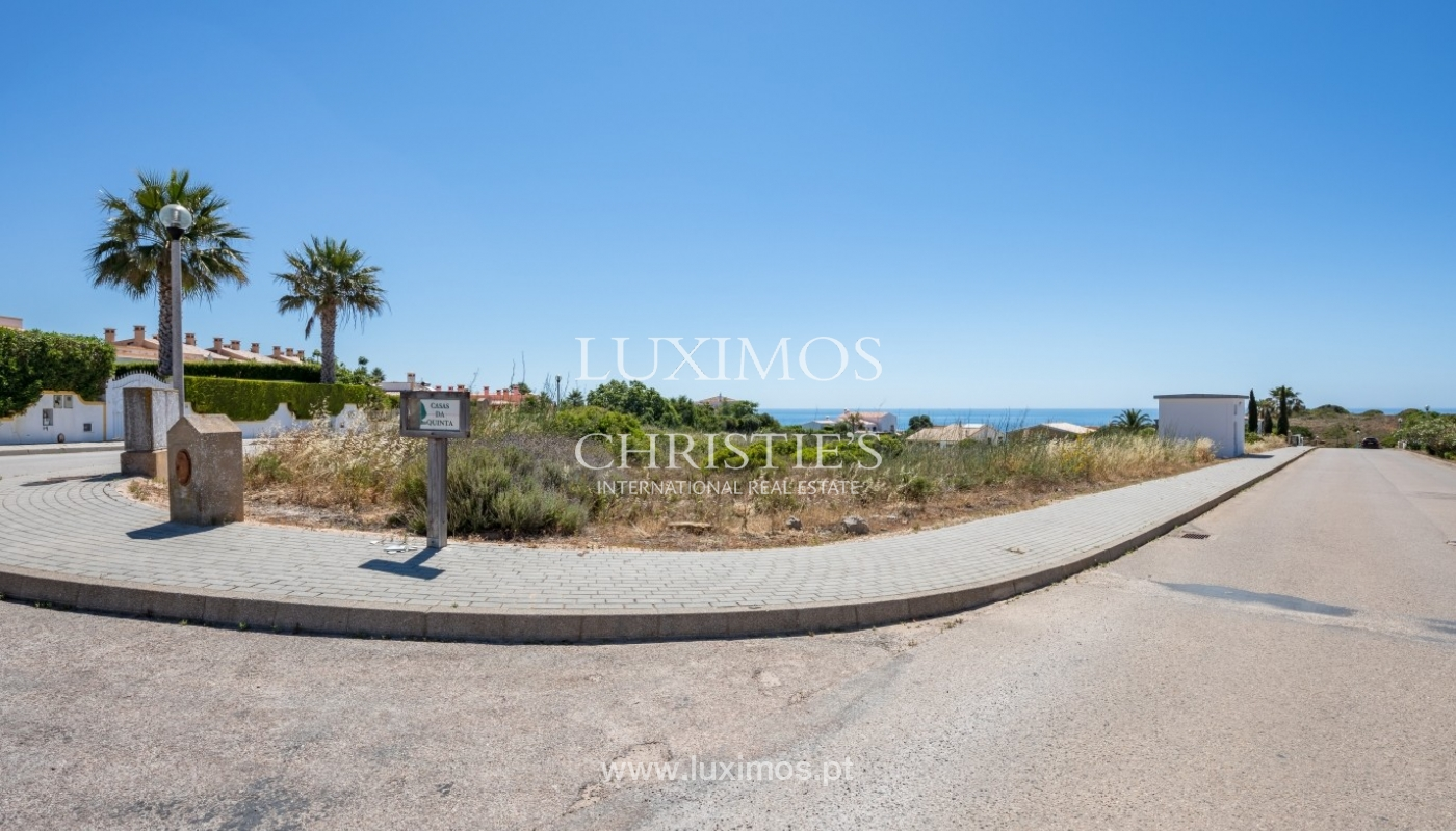 Plot area for sale for house construction, sea view, Algarve, Portugal_60804