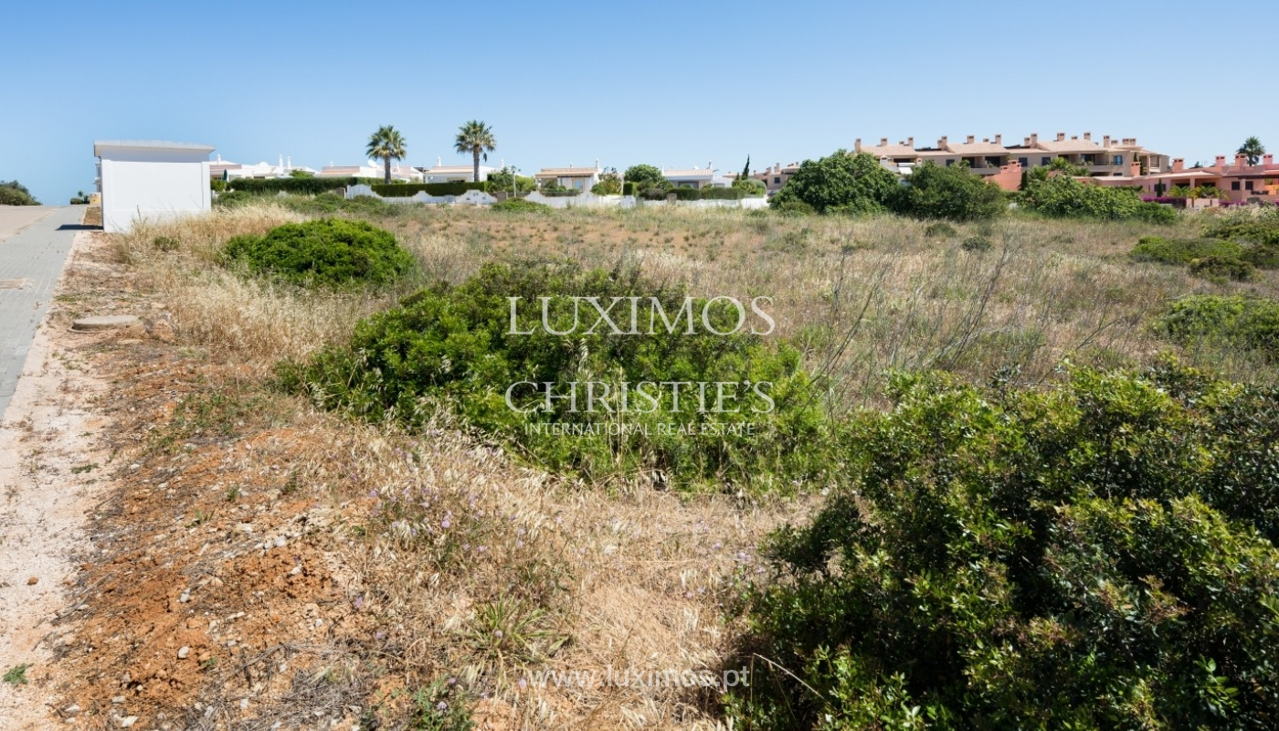 Plot area for sale for house construction, sea view, Algarve, Portugal_60806