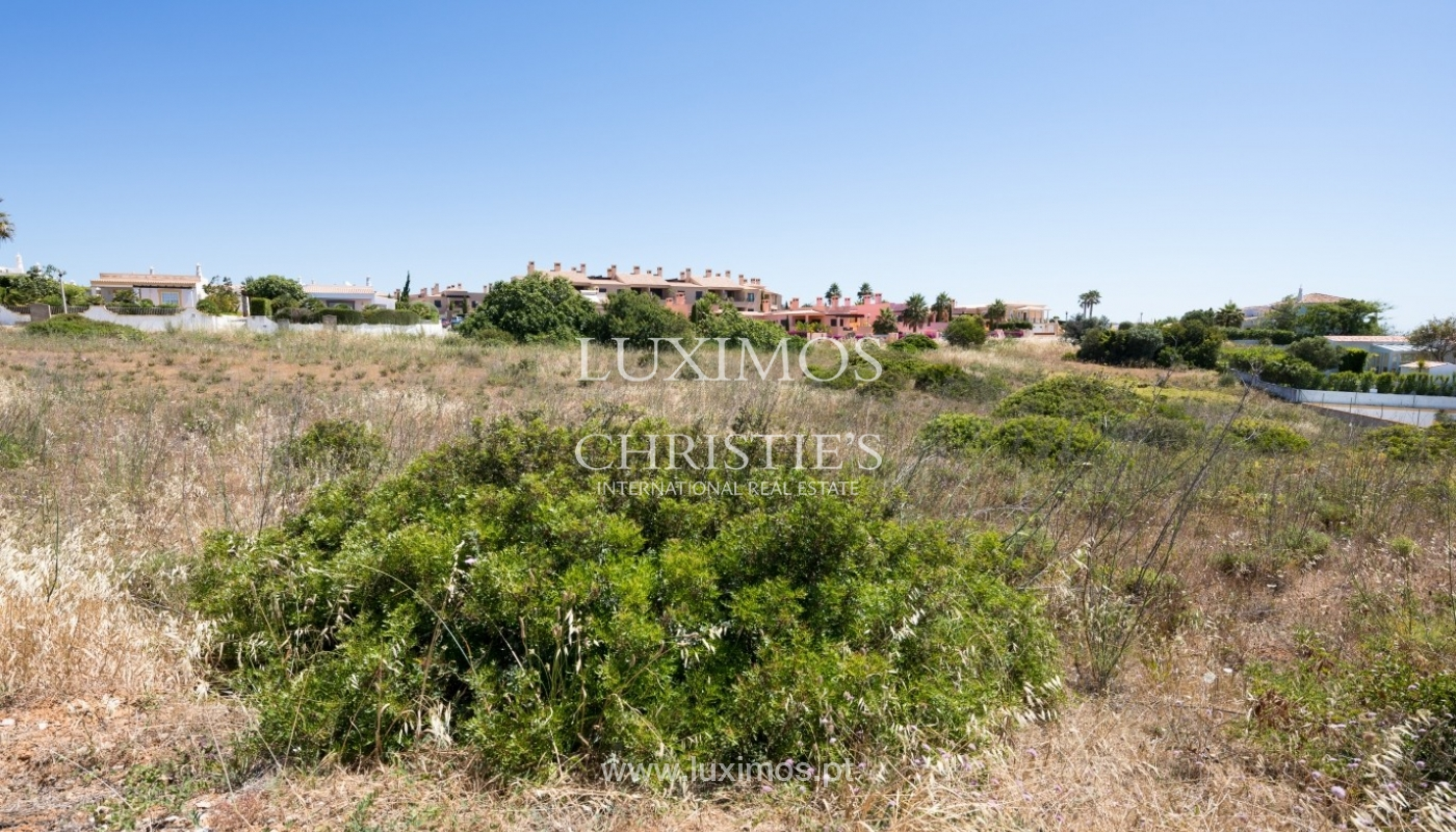 Plot area for sale for house construction, sea view, Algarve, Portugal_60807