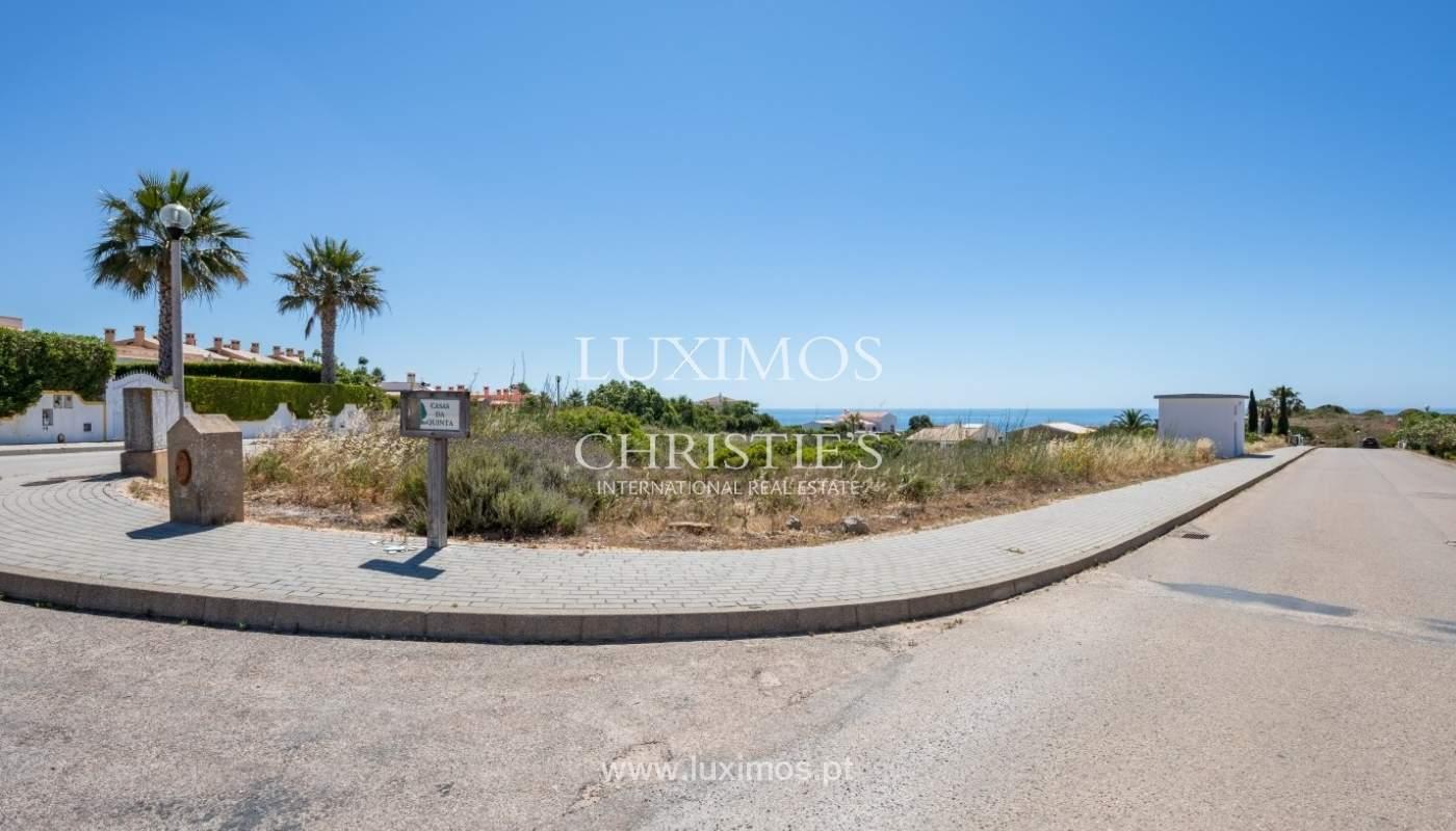 Plot area for sale for house construction, sea view, Algarve, Portugal_60816