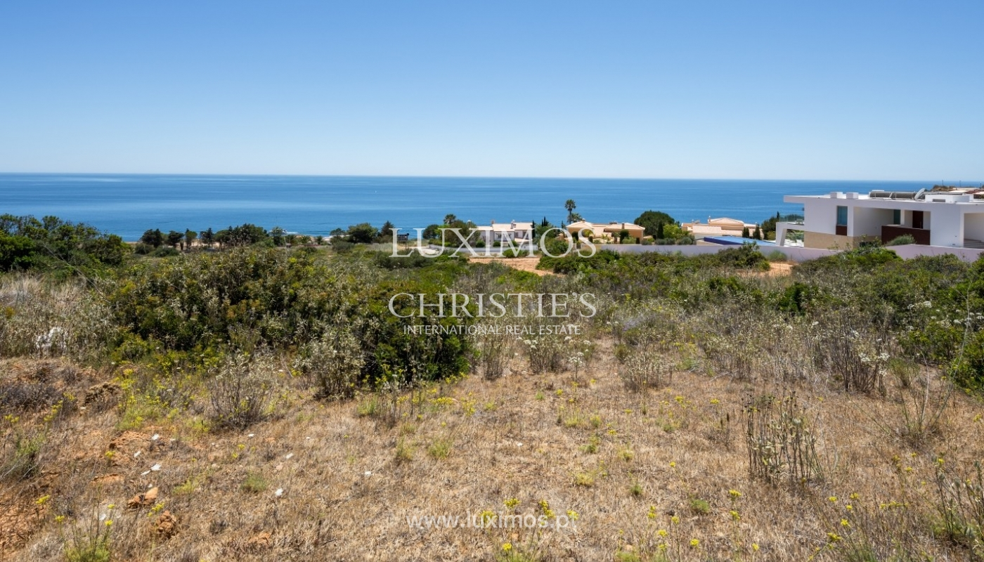 Plot area for sale for house construction, sea view, Algarve, Portugal_60823