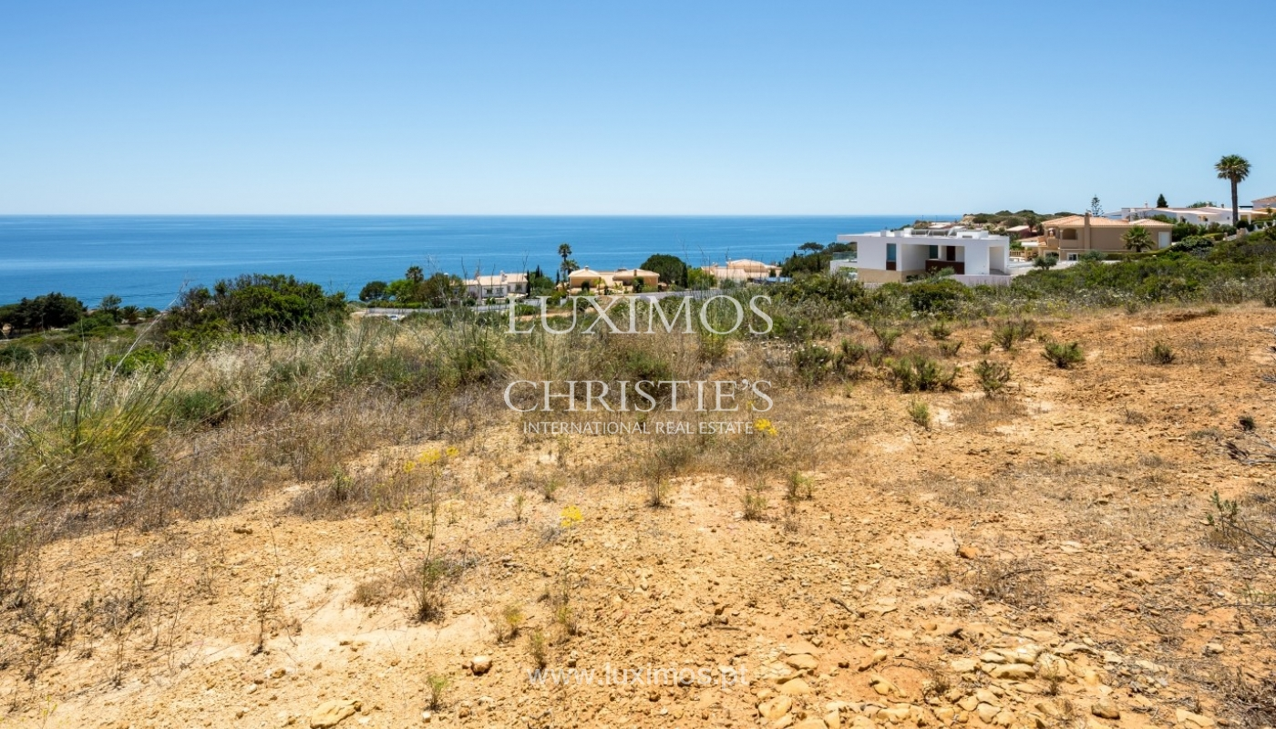 Plot area for sale for house construction, sea view, Algarve, Portugal_60824