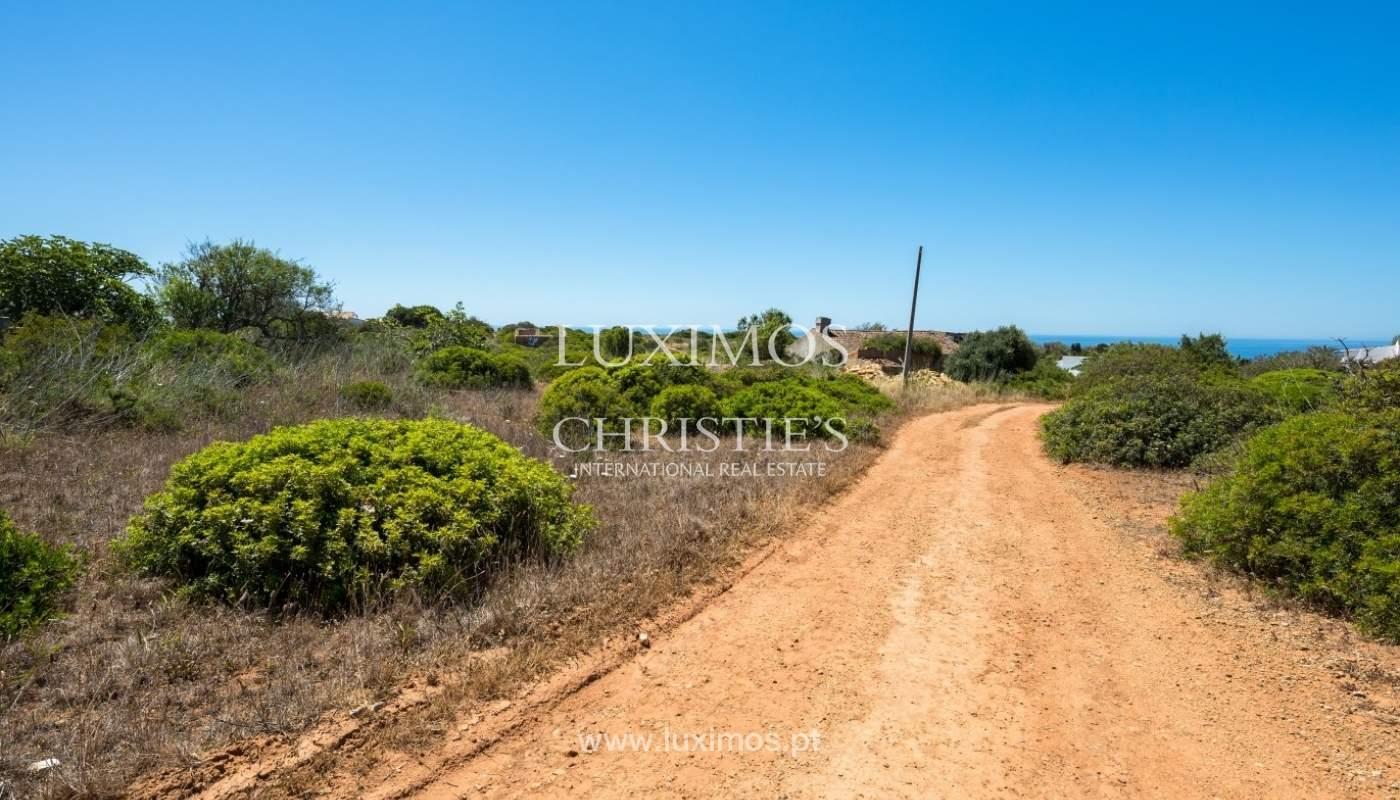 Verkauf von Grundstücken für den Bau des Hauses, das Meer, Lagos, Algarve, Portugal_60833